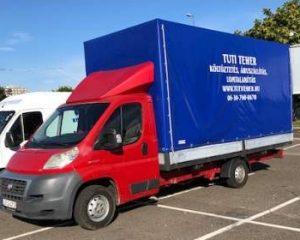 Költöztető cégünk több nagyobb rakterű gépjárművel áll ki, amiben a szállítani kívánt tárgyak nagy biztonságban vannak. Tehát a költöztetése megbízható járművel lesz elvégezve!